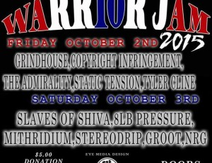 Mithridium to Play the 5th Annual Warrior Jam