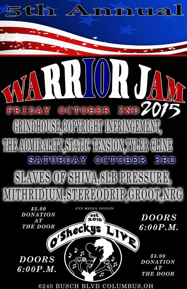 Warrior Jam 10032015 Flyer