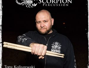 Tony Kaliszewski Scorpion Percussion Endorsement